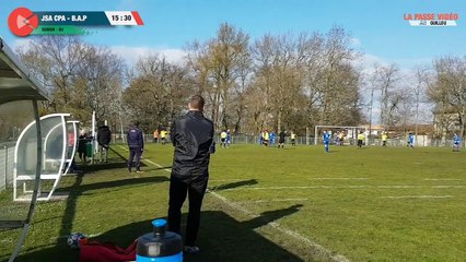 Football Departemental 3 - JSA-CPA - Saint-Medard Balle au pied