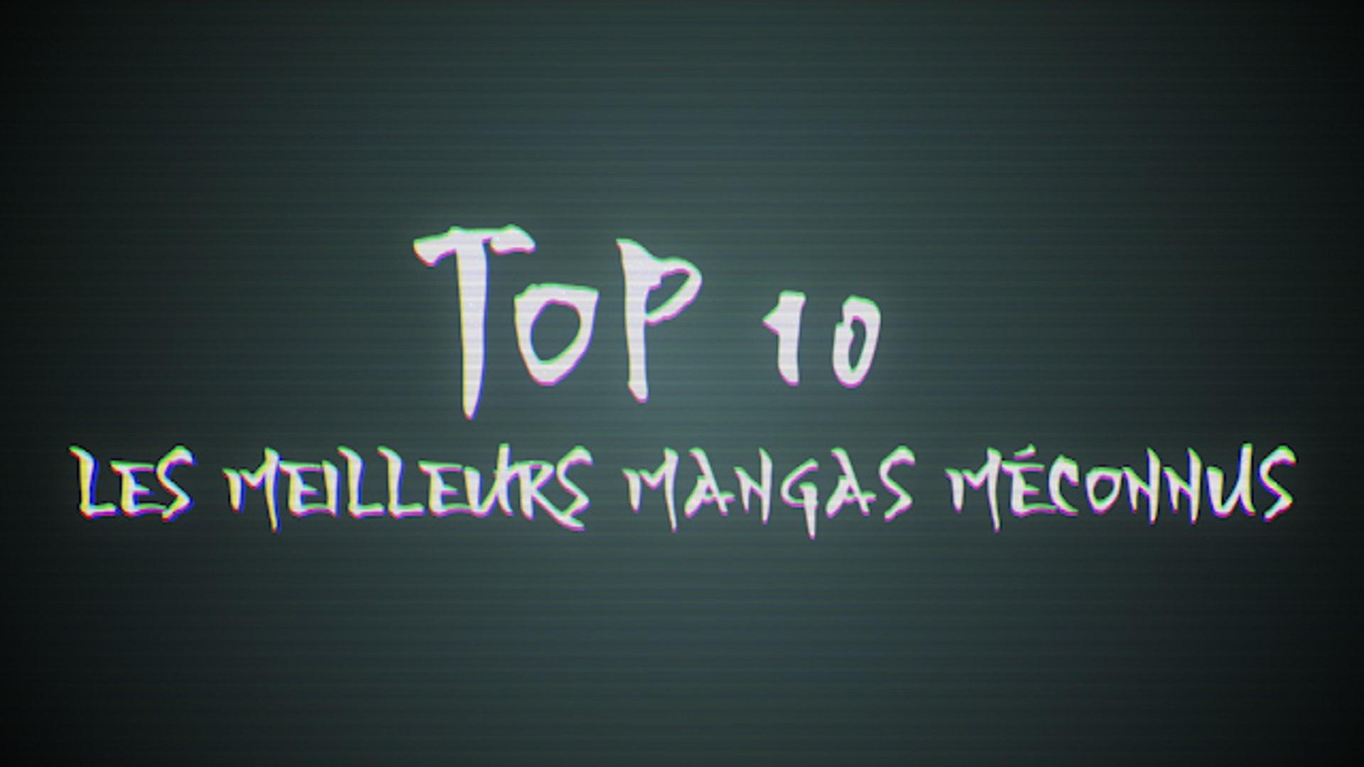 Top 10 : Les meilleurs mangas méconnus