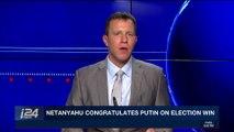 i24NEWS DESK | Netanyahu congratulates Putin on election win | Monday, March 19th 2018
