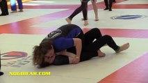 Girls Grappling:  DOUBLE FEATURE #15 •No-Gi / Gi  • Women Wrestling BJJ MMA Brazilian Jiu-Jitsu