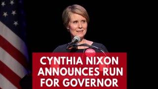 Sex And The City star Cynthia Nixon announces run
