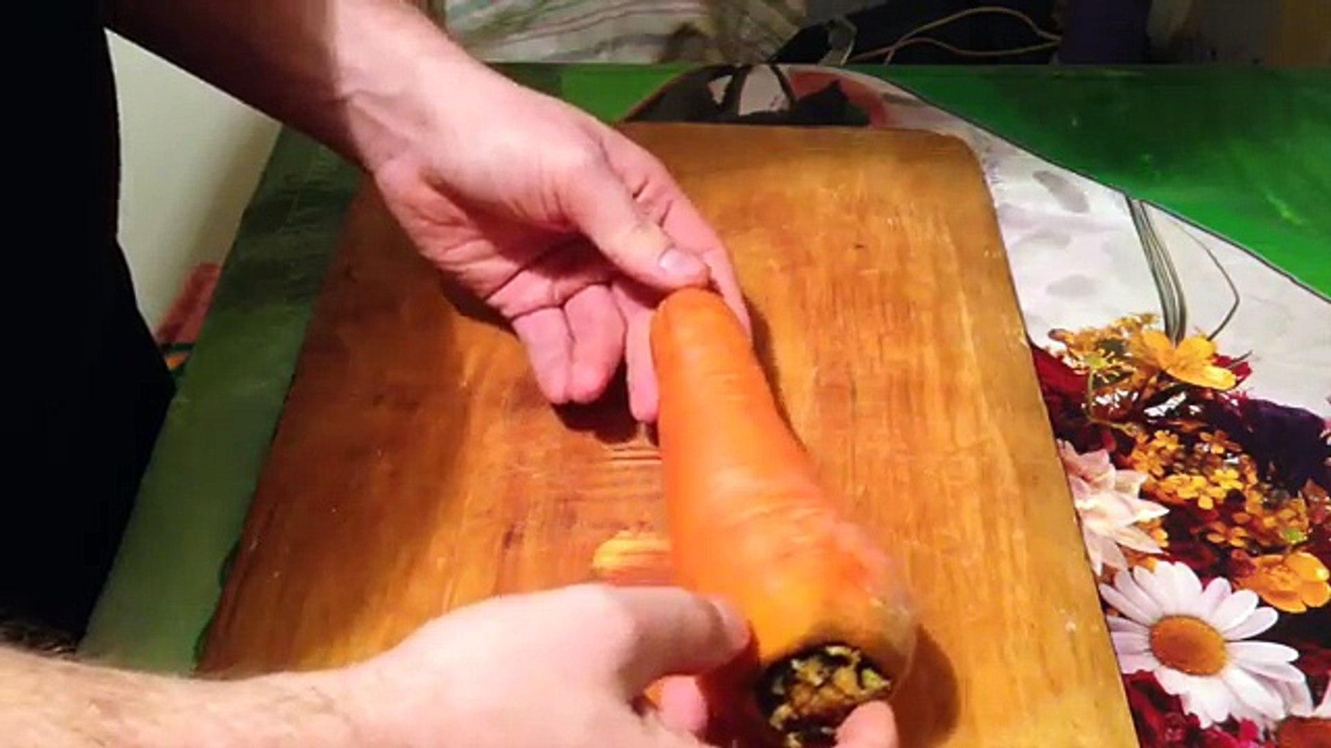 Вкусная поделка-машинка из морковки или как мы научились любить овощи