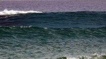 Trains de grosses vagues