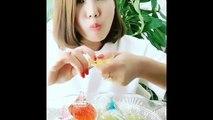 Cette mode des chinoises qui mangent des glaçons