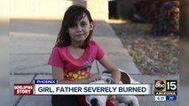 Neighbor speaks out after girl, father were severely burned in Phoenix