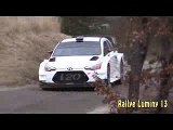 Rally WRC Hyundai i20 test Neuville Gilsoul Monte Carlo 2017