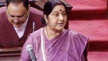 Sushma Swaraj in Rajya Sabha confirms killing of 39 Indians in Iraq, Watch | Oneindia News