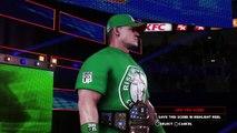 WWE 2K18 Johncena vs p1 AJStyles p1 united states champianship