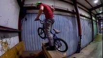 Tant de chutes pour réussir une figure à Vélo !! 360 en BMX