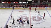 NHL Fight: Aaron Ekblad vs Nicolas Deslauriers