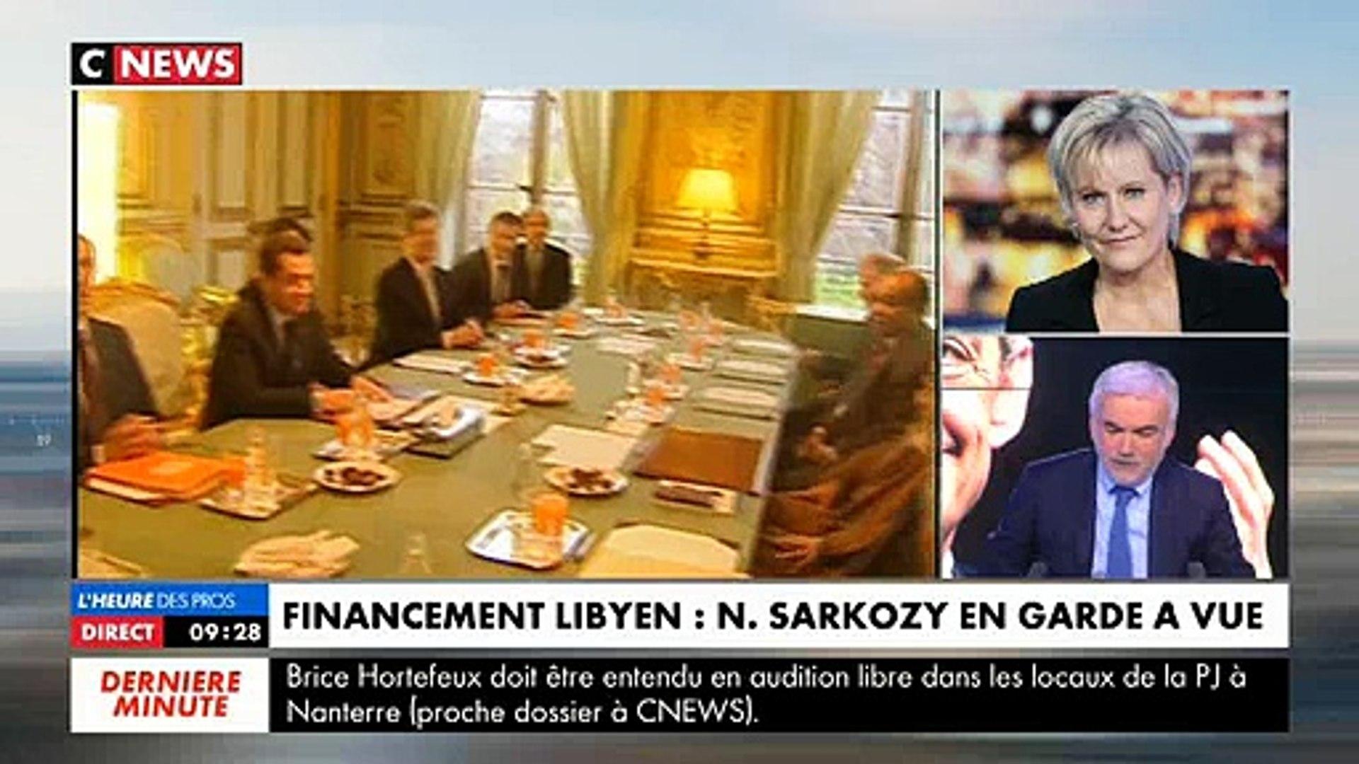 Garde à vue de Sarkozy: Furieuse, Nadine Morano hurle et raccroche au nez de Pascal Praud en direct