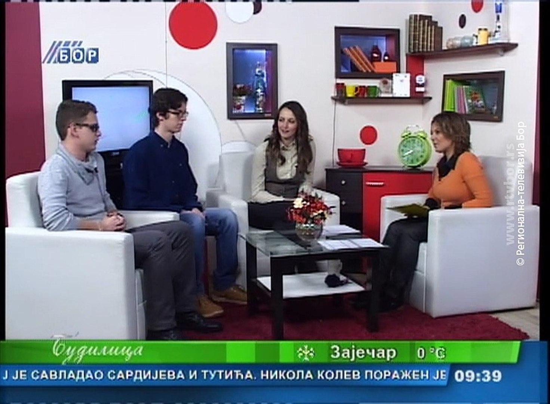 Budilica gostovanje (Sandra Živković,Mladen Antić,Milan Radoičić), 20. mart 2018. (RTV Bor)