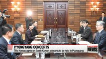 North Korea agrees to hold 2 South Korean pop concerts in April