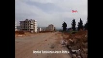 Afrin'de terör örgütü PKK/YPG'nin araca tuzakladığı patlayıcı imha edildi