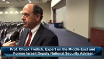 Prof. Chuck Freilich, Expert on the Middle East and Former Israeli Deputy National Security Adviser, Senior Fellow at the Kennedy School of Government at Harvard University