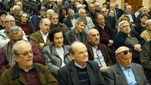 Σύσκεψη συνταξιούχων της Στερεάς στη Λαμία