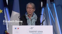 Elisabeth Borne lance les Assises nationales du transport aérien