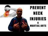 how to prevent neck injuries in martial arts