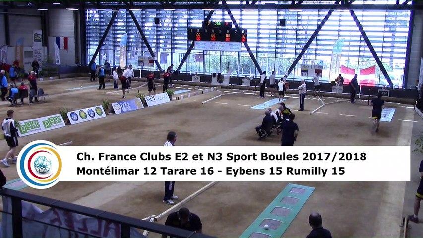 Troisième tour, tir rapide en double, finale Elite 2 Montélimar contre Tarare et finale National 3 Eybens contre Rumilly, France Clubs 2018, Balaruc-les-Bains 2018