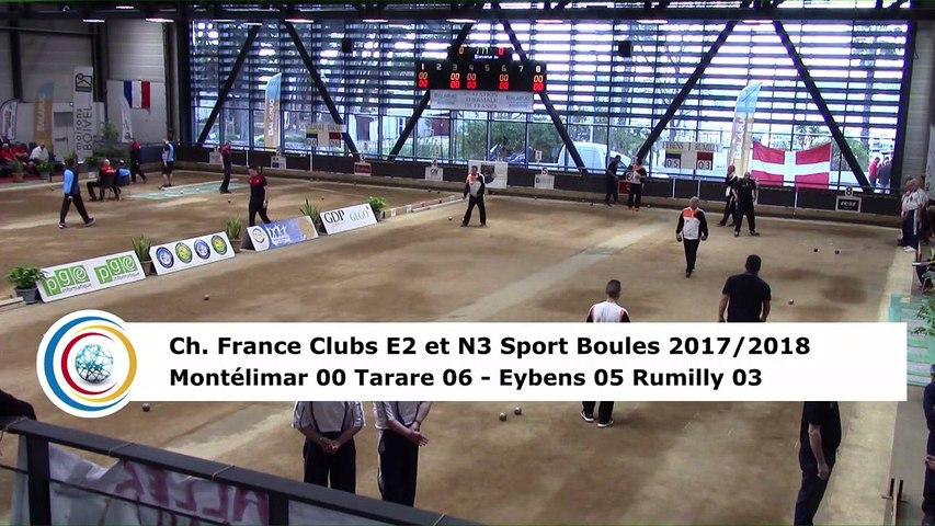 Second tour intégral, finale Elite 2 Montélimar contre Tarare et finale National 3 Eybens contre Rumilly, France Clubs 2018, Balaruc-les-Bains 2018