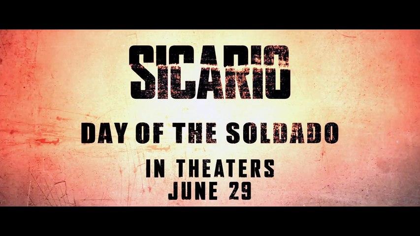 SICARIO, Day of the Soldado - Official Trailer (HD) [720p]