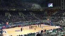 Παναθηναϊκός Superfoods - Ερυθρός Αστέρας   Αποδοκιμασίες στον ύμνο της Euroleague