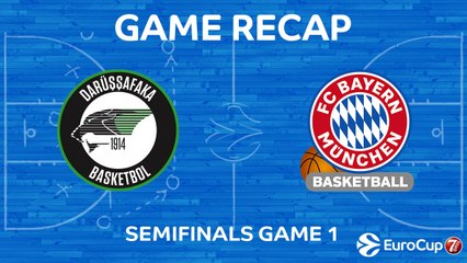 7DAYS EuroCup Highlights: Darussafaka 76-74 Bayern