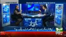 Talat hussain k Shahid masood per tweet - Orya sahab ka talat ko jawab
