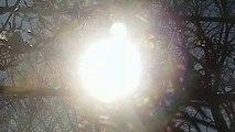 Crazy Footage NIBIRU Planet Above sun in sunrise 2018 PlanetX...