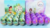 Huevos Sorpresa de Jake y los piratas y Tinker Bell Hadas Piratas   JuguetesYSorpresas
