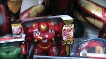 Disney Marvel Avengers Videos Age Of Ultron SUPER GIANT SURPRISE EGG IronMan Hul