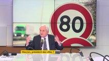"""""""C'est absurde, c'est quand on demande toujours à Paris de s'occuper des routes secondaires. Ce qui est secondaire doit échapper à la congestion cérébrale du haut de notre Etat"""" affirme Jean-Pierre Raffarin"""