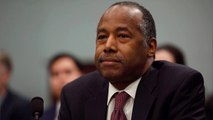HUD Secretary Ben Carson points to wife for expensive dining set