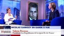 Sarkozy en garde à vue: «désastre», «justiciable comme un autre», les réactions des politiques