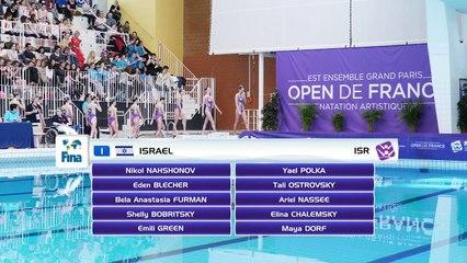 Highlights Open de France de natation artistique - FINA World Séries 2018