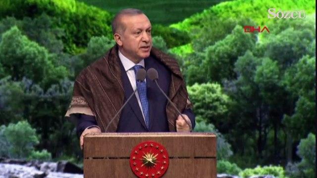 """Erdoğan, """"Milletimizle Birlikte Daha Yeşil Türkiye Buluşması Irak Sincar'ı temizlemezse biz temizleriz"""