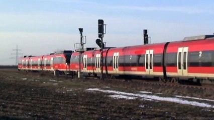 Talent BR644 zwischen Rheinbach und Meckenheim auf der Voreifelbahn