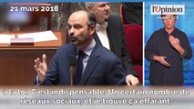 Racisme et antisémitisme: Edouard Philippe veut s'attaquer aux réseaux sociaux
