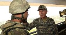 Genelkurmay Başkanı Akar, Irak Sınırındaki Askeri Üs Bölgelerinde İncelemelerde Bulundu