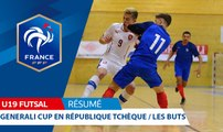 U19 Futsal, Generali Cup : Tous les buts !
