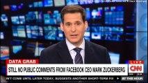 Still No Public comments from Facebook CEO Mark Zuckerberg. #MarkZuckerberg #Facebook #DataGrab