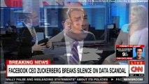 BREAKING NEWS: Facebook CEO Mark Zuckerberg Breaks Silence on Data Scandal. #Breaking #Facebook #DataFirm #MarkZuckerberg