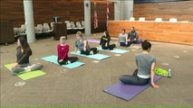 Kansas City First Responders Take Yoga Classes to Help Deal with Stress of Job