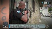Zona Oeste do Rio já enfrenta 50 dias de tiroteios