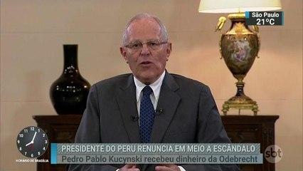 Presidente do Peru, Pedro Pablo Kuczynski, renúncia ao cargo