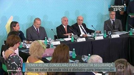 Governo diz que vai liberar dinheiro para intervenção no Rio