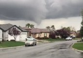 Funnel Cloud Spotted Over Homes Near Sacramento