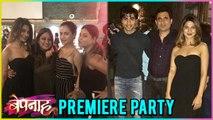 Bepannah PREMIERE Party INSIDE Pictures | Jennifer Winget , Sehban Azim, Harshad Chopra