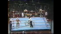 Blue Panther/Tony Arce/Vulcano vs Solar II/Rokambole/Stuka (CMLL December 12th, 1986)