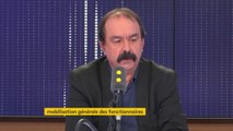"""Nicolas #Sarkozy """"Les faits qui lui sont reprochés sont extrêmement graves"""" réagit Philippe Martinez (CGT) :  """"La justice fait son boulot, dans des conditions difficiles d'ailleurs"""""""